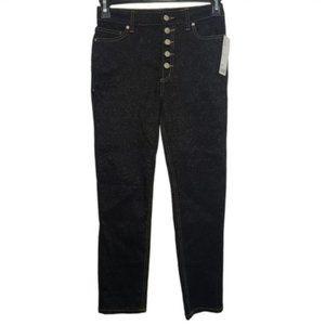 UO BDG Stairway Black Glitter High-Rise Jeans 27